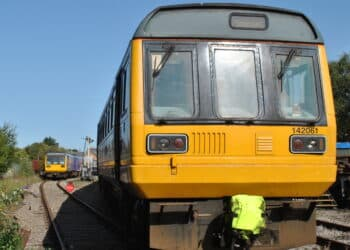 The MNR's two Pacer units at Dereham