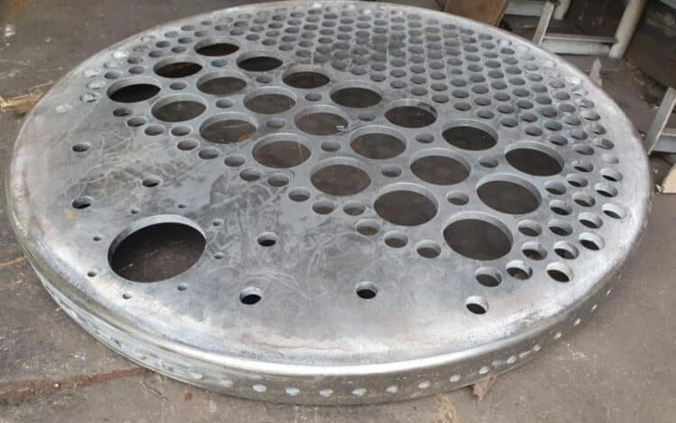 Tubeplate For 1014 // Credit 1014 The GWR County Project
