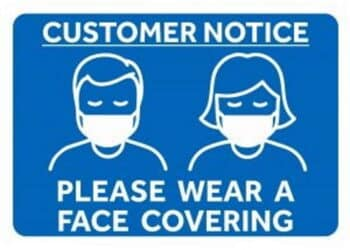 face covering notice