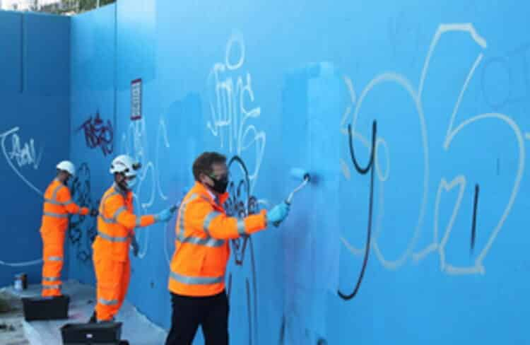 graffiti clean up