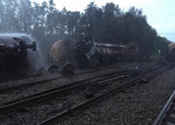 Llangennech train fire