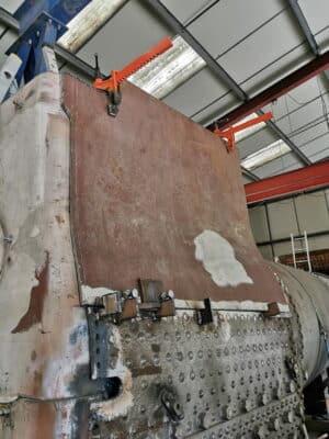 New side for 4253s boiler