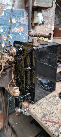 Water heater for Sentinel Ann overhauled