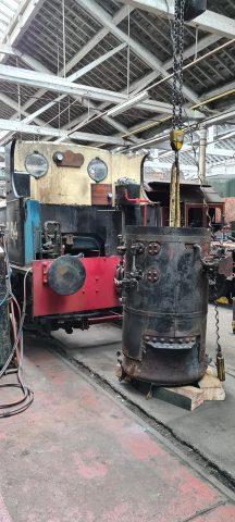 Removed boiler for Sentinel Ann