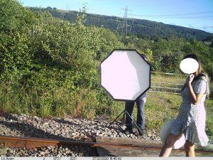 Cilfrew level crossing misuse