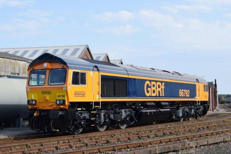 GBRf Class 66 No. 66792