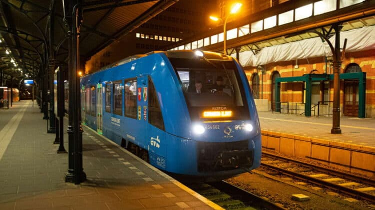 Coradia iLint on test in the Netherlands