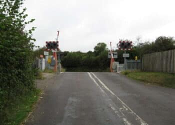 Crewkerne Level Crossing Somerset