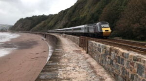 CrossCountry HST passing Holcombe beach