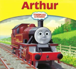 Thomas & Friends Book 41 Arthur Front Cover