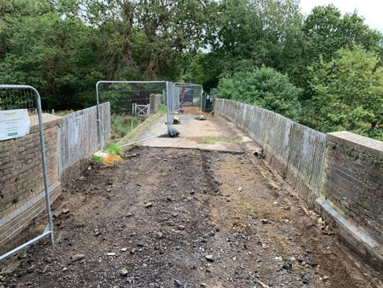 Eccles Heath Bridge replacement