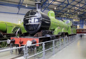 "Great Northern Railway C1 small boiler No.990 ""Herny Oakley"" at NRM York // Credit NRM York"