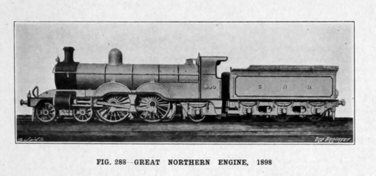 Great Northern Railway C1 small boiler No.990 (later named Henry Oakley) Credit Unknown
