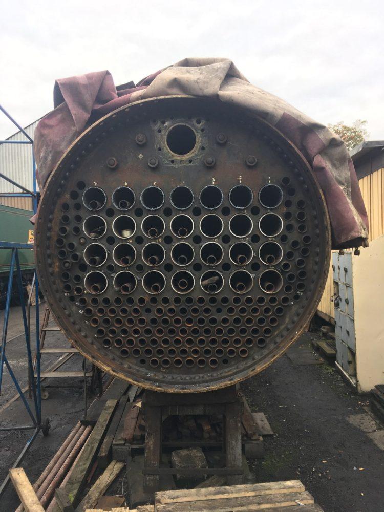 Boiler work on LMS Black 5 No. 45491
