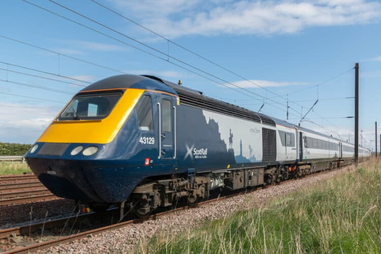 ScotRail Inter7City HST near Drem