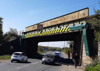Railway Bridge to be replaced at Crofton near Wakefield