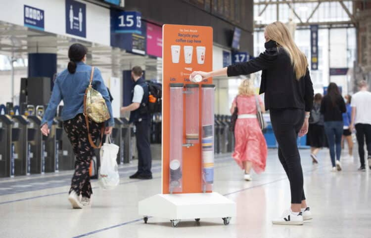 Network Rail Recycle Coffee Cups