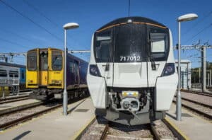 Class 717 and Class 313 Trains