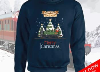 Severn Valley Railway Christmas jumper