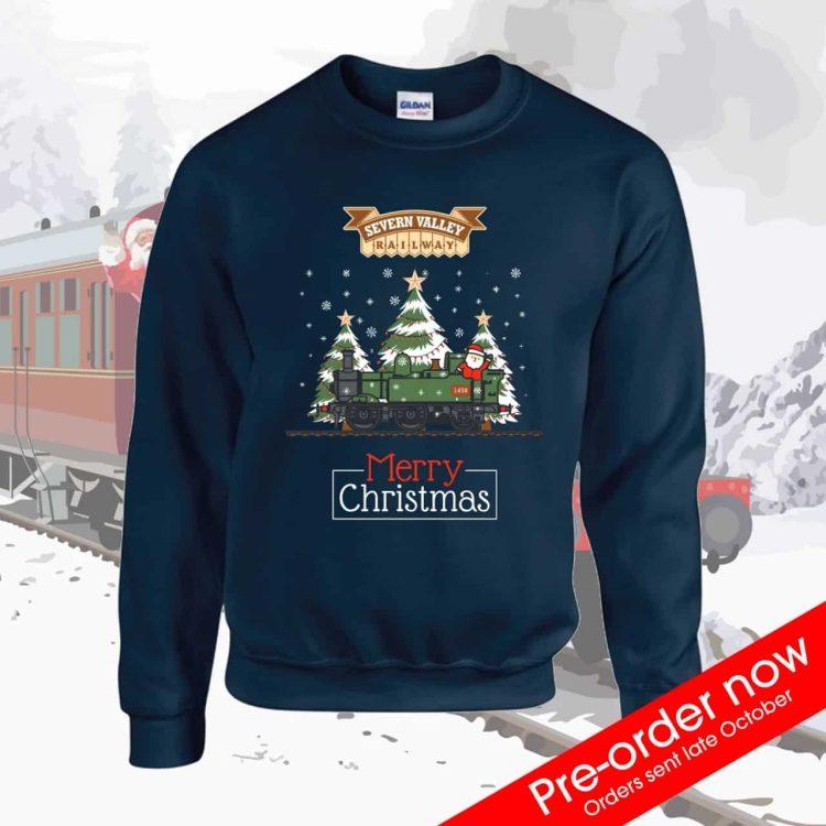 Severn Valley Railway Christmas jumper