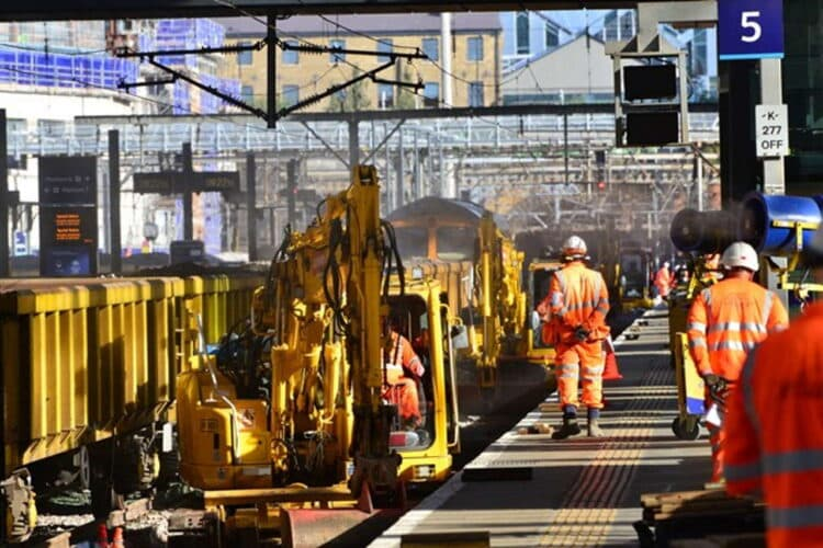 No trains in or out of London King's Cross Station on October weekend as Network Rail makes progress on £1.2billion East Coast Upgrade