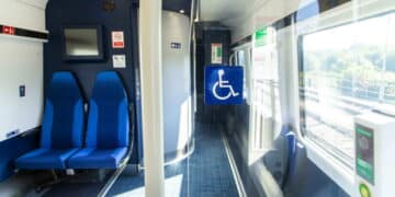 Northern Train Wheelchair