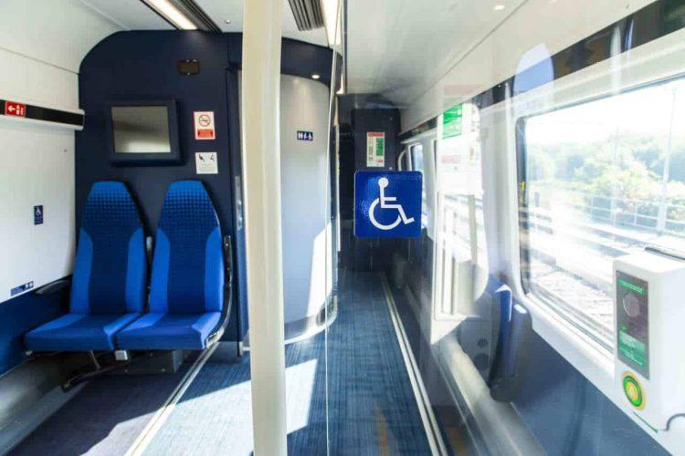 Northern Train Wheelchair