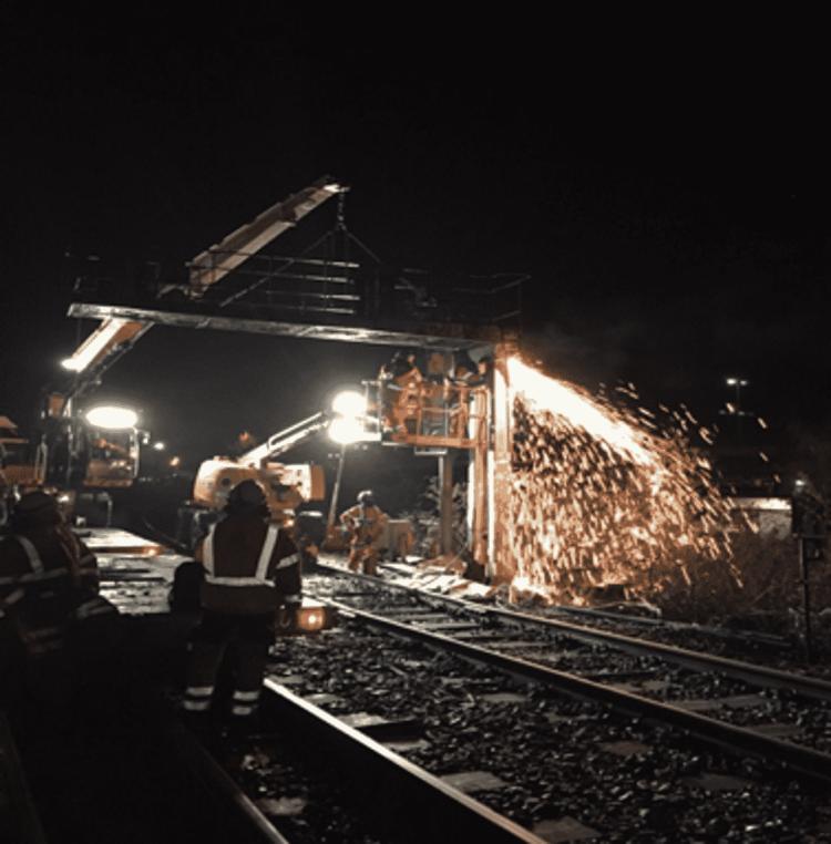 Alstom signalling work