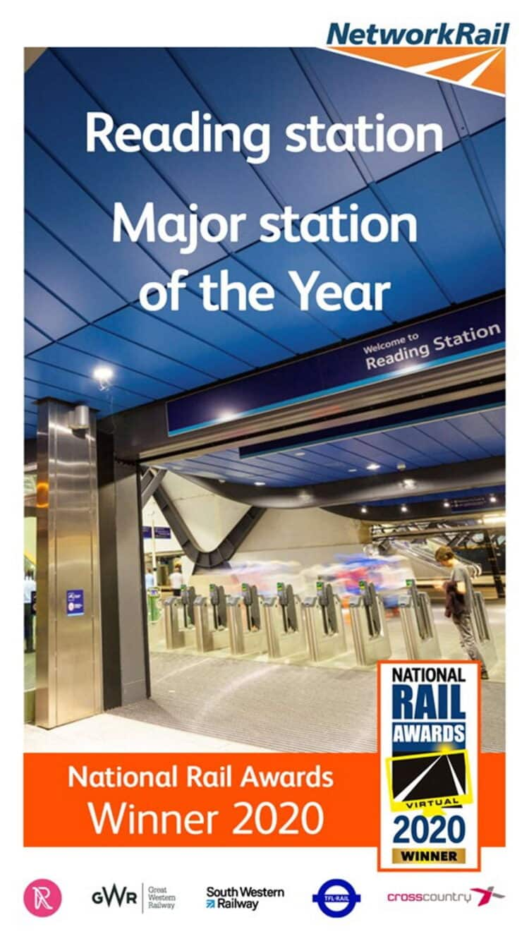 Reading station awarded major station of the year