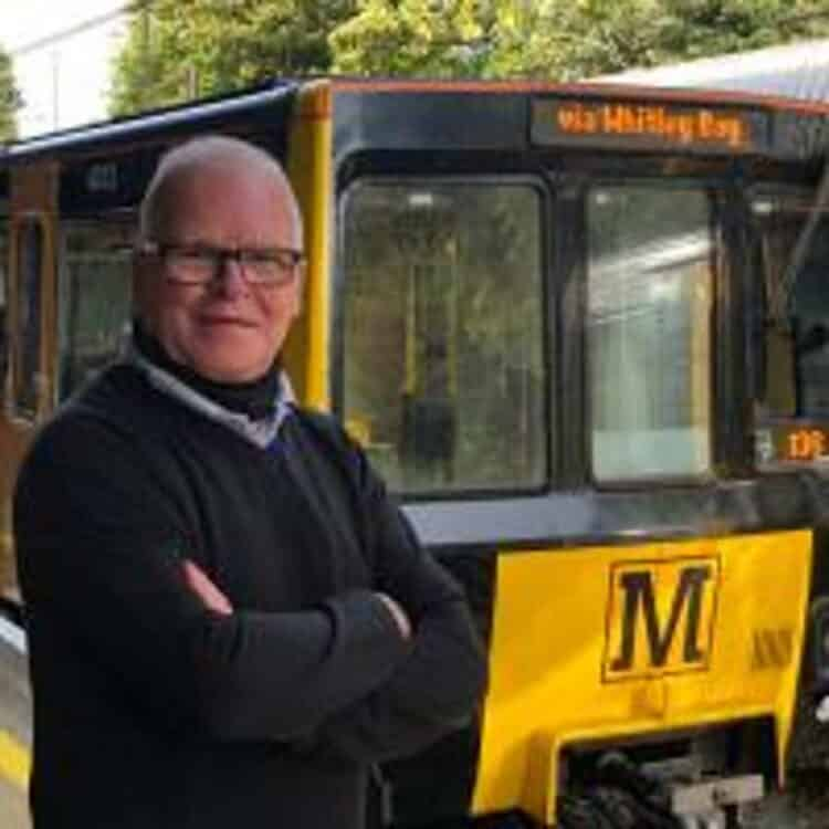 Richard Neesham Oldest Metro Train Driver
