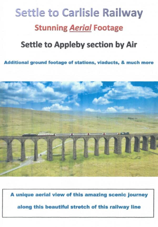 Settle and Carlisle Railway by air DVD