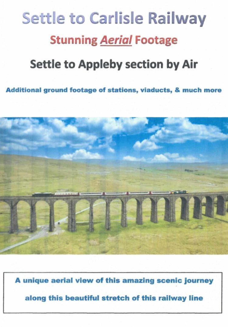 Settle and Carlisle Railway by air DVD