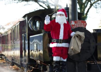 Santa Specials on the Leighton Buzzard Railway
