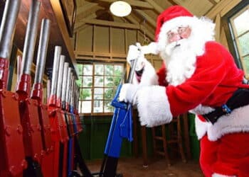 Santa Specials on the North Yorkshire Moors Railway