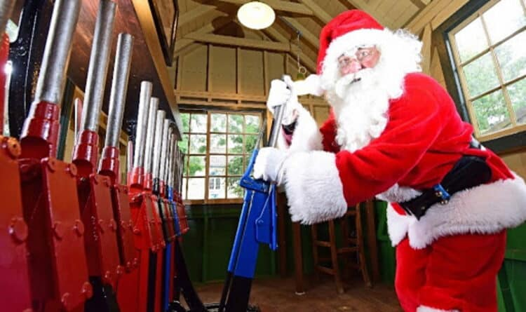 Santa Specials on the North Yorkshire Moors Railway
