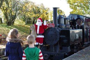 Santa Specials on the Leighton Buzzard Railway