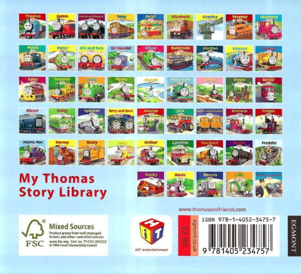 Thomas and Friends Book 28 Diesel Back Cover