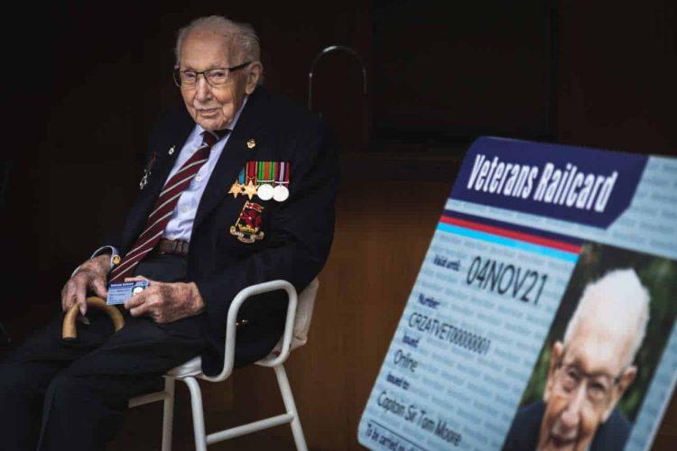 Tom Moore Veterans Railcard