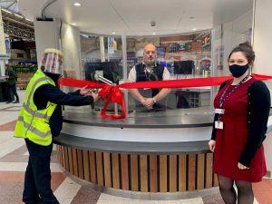London Victoria Station Customer Information Point