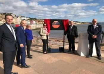 opening of new Dawlish seawall