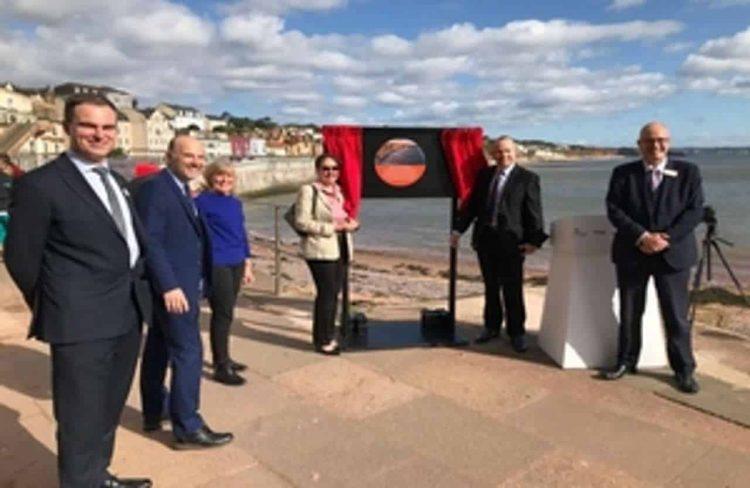 opening of new Dawlish seawall