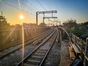 Work on track and bridges between Gospel Oak and Barking