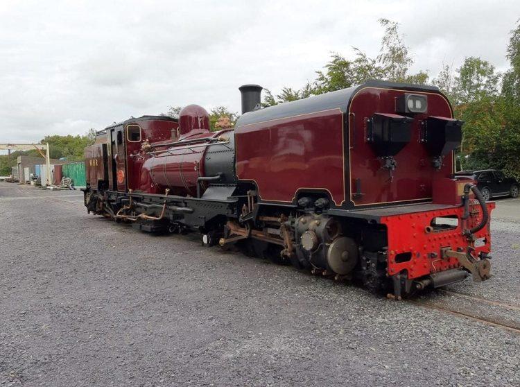 Garratt 130 at Dinas Locomotive Works