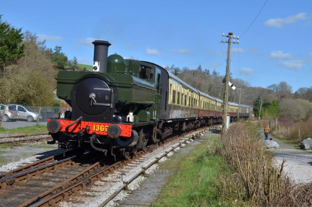 1369 on the South Devon Railway