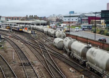 Derailment at Sheffield station