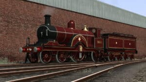Midland Railway Spinner 2601 Princess of Wales reskin for Train Simulator
