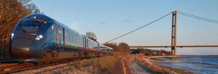 Hull Trains Paragon fleet of trains
