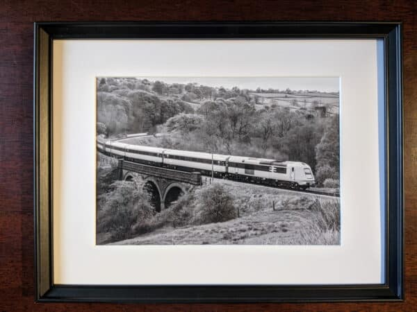 41001 on the Keighley and Worth Valley Railway framed print