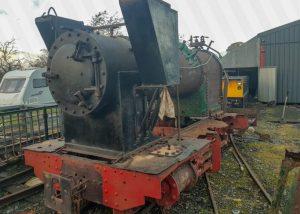 Avonside locomotive arrives at the Bala Lake Railway