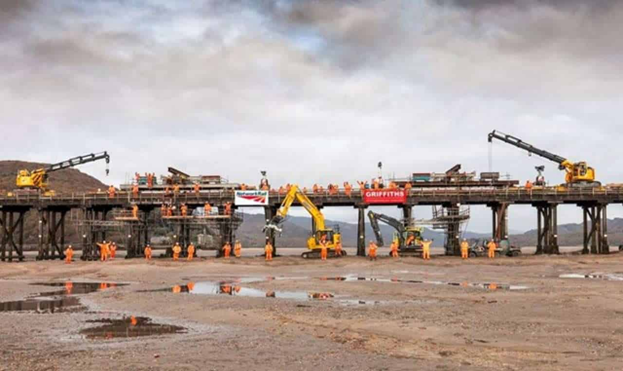 First phase of £25m Barmouth Bridge upgrade is complete